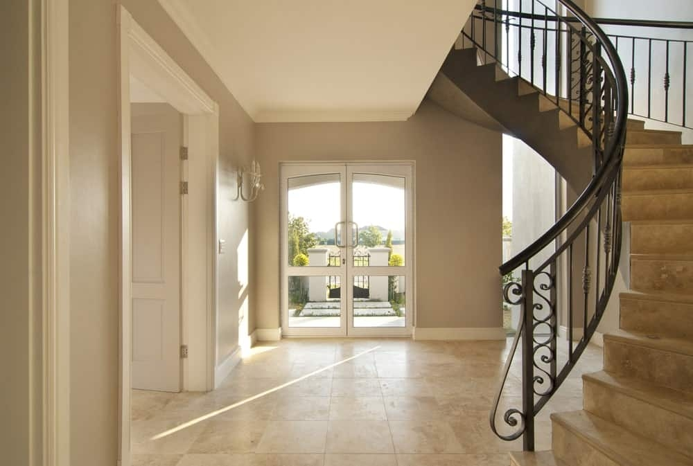50 Staircases With Tile Flooring Photos   Stairs Tiles Design For Home   Outside Staircase   Stair Tread   Color   Exterior   Custom