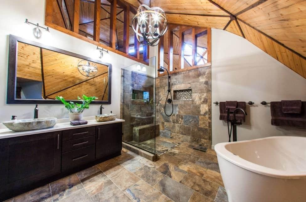 75 rustic primary bathroom ideas photos on rustic bathroom designs photos id=68209