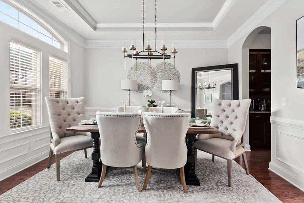 45 transitional dining room ideas for 2019 on dining room inspiration id=47990