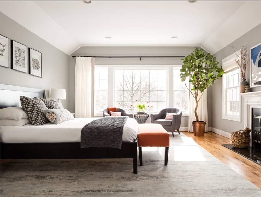 101 Transitional Primary Bedroom Ideas (Photos) on Master Bedroom Ideas  id=43119