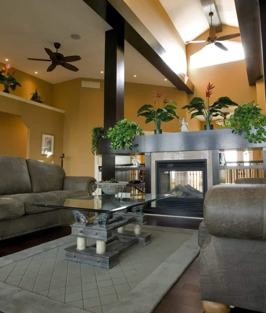 101 Beautiful Living Rooms with Fireplaces of All Types ... on Small Space Small Living Room With Fireplace  id=99423