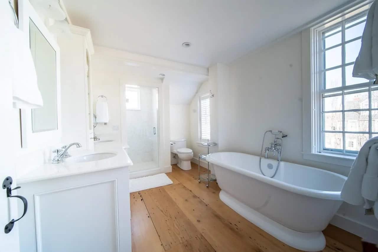 65 Cottage Style Primary Bathroom Ideas (Photos) on Bathroom Ideas Photo Gallery  id=61423