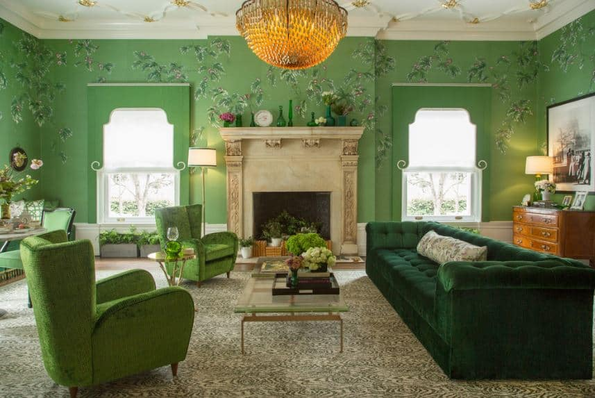 40 Green Living Room Ideas Photos Home Stratosphere