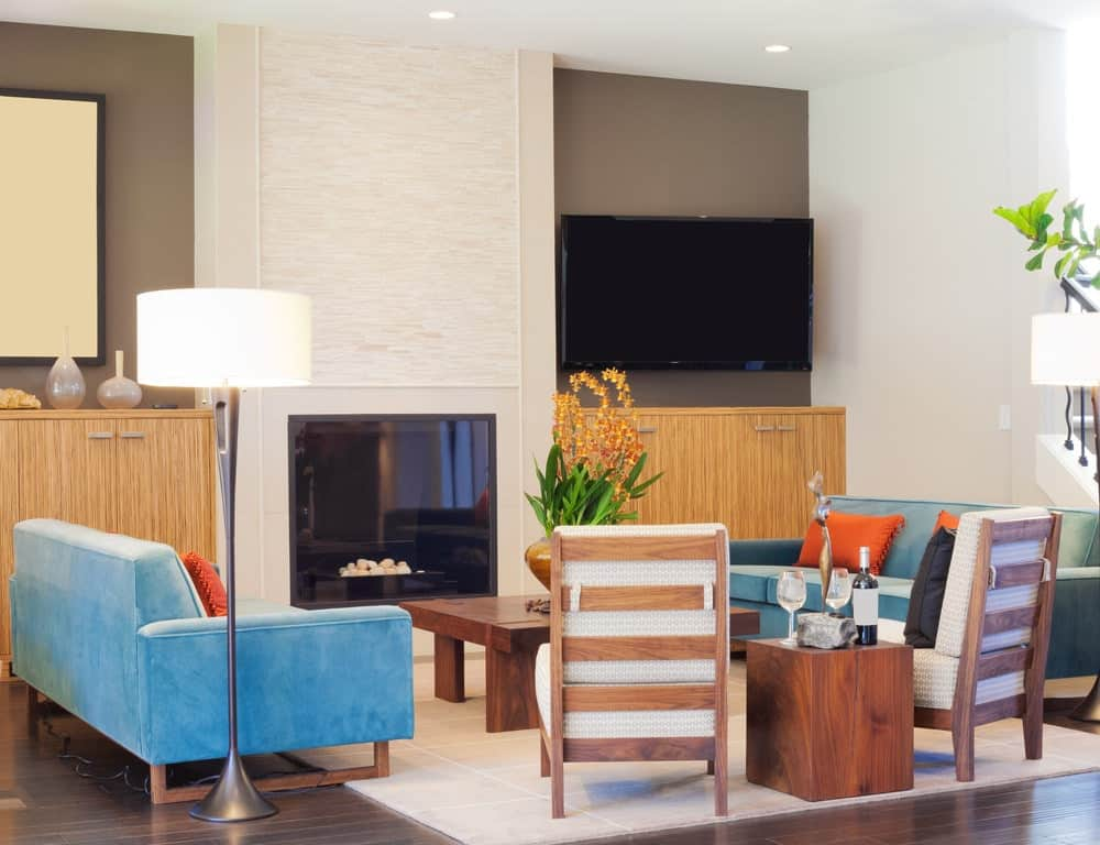 Watch living room colors from hgtv contemporary orange living room makeover 03:56 contemporary orange living room makeover 03:56 meg caswell visits a historic hyde park neighborhood to remodel the kitchen and living room of a family that wa. 30 Multi-Colored Living Room Ideas (Photos)