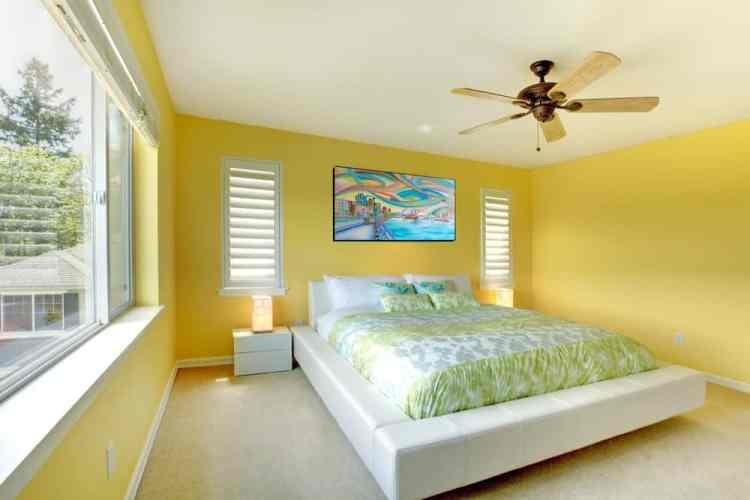 45 Yellow Primary Bedroom Ideas Photos