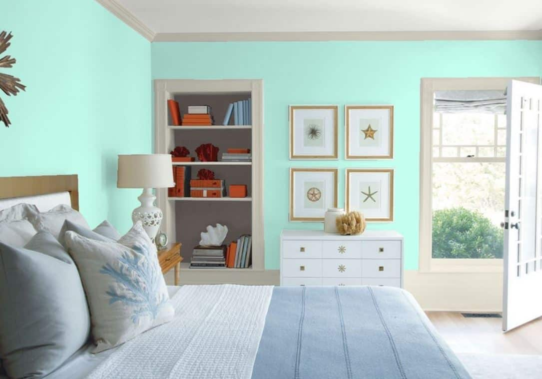 By molly cleary 16 march 2021 improve your sleep and your decor with our tips on how to choose the best bedroom wall color. 25 Of The Best Green Paint Color Options For Guest Bedrooms Home Stratosphere