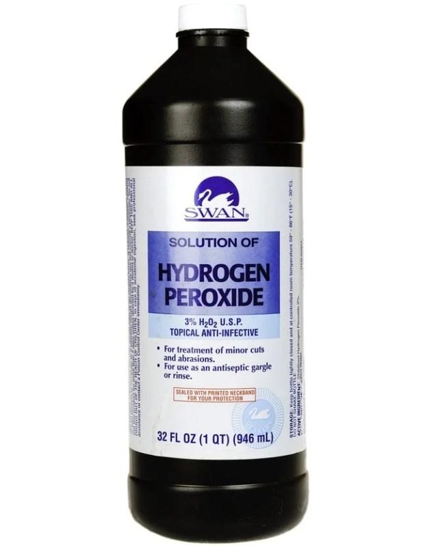 Swan marka hidrojen peroksite yakından bakış.