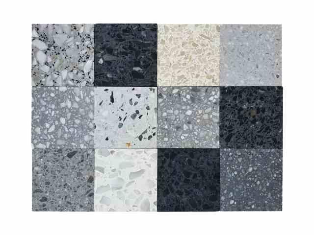 Çeşitli mozaik karo örneklerine bir bakış.