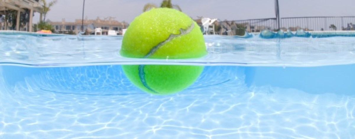 Image result for tennis balls and pools