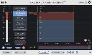 Youlean Loudness Meter 2 main plugin image2