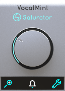 Audified VocalMint Saturator Review main plugin image