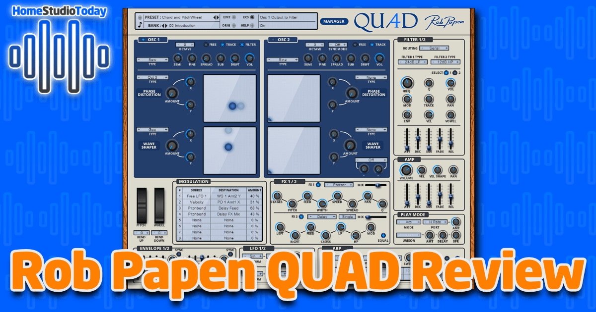 Rob Papen QUAD Review featured image