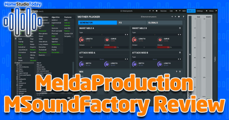 MeldaProduction MSoundFactory Review