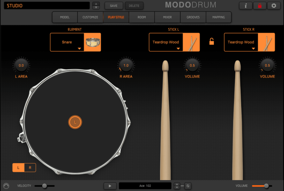 IK Multimedia MODO Drum Review - playstyle