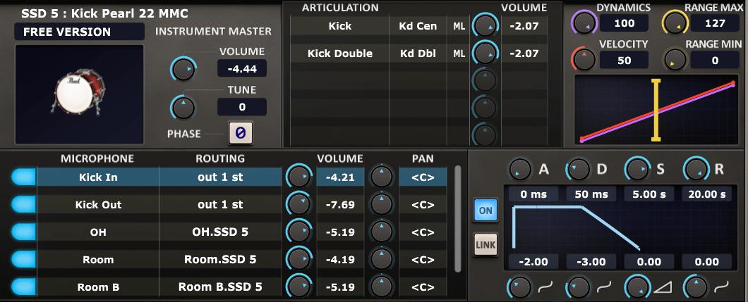 Steven Slate Drums 5.5 edit