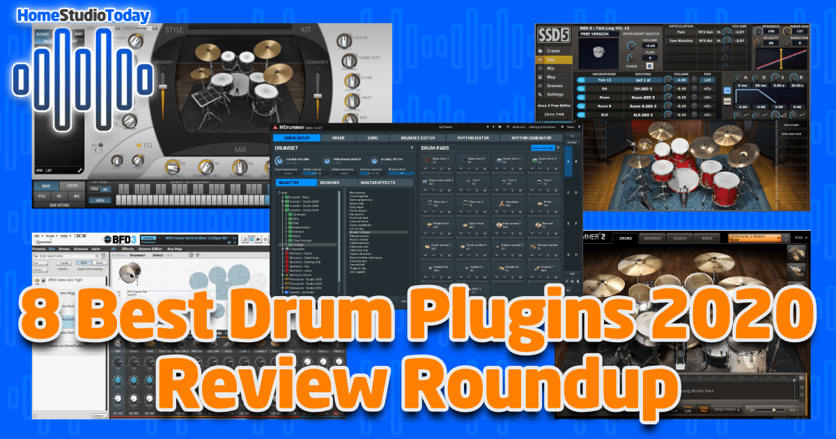 8 Best Drum Plugins 2020 Review Roundup featured image