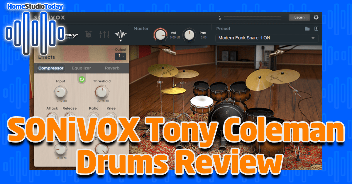 SONiVOX Tony Coleman Drums Review featured image