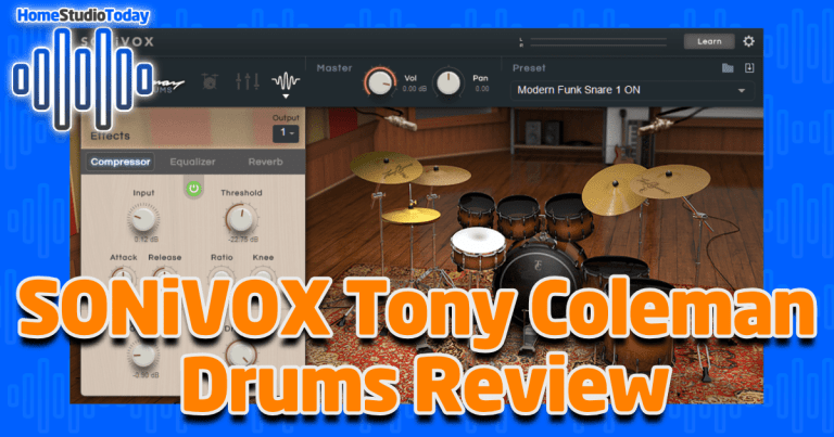 SONiVOX Tony Coleman Drums Review
