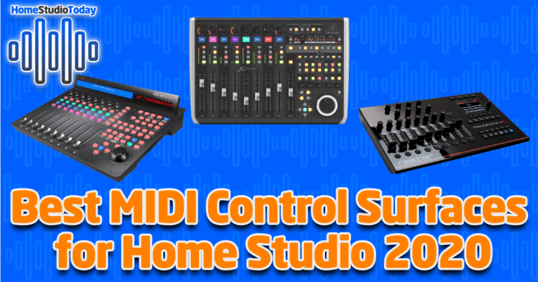 Best MIDI Control Surfaces for Home Studio 2020