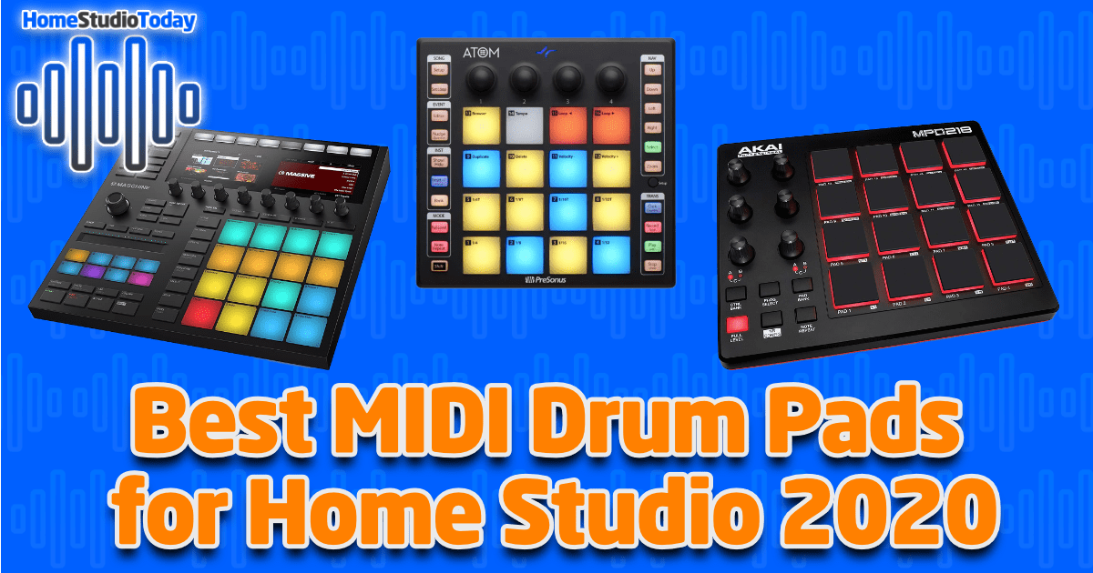 Best MIDI Drum Pads for Home Studio 2020 featured image
