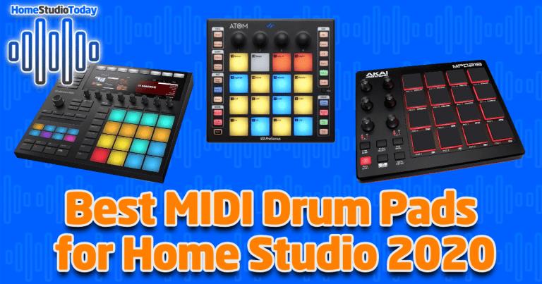 Best MIDI Drum Pads for Home Studio 2020