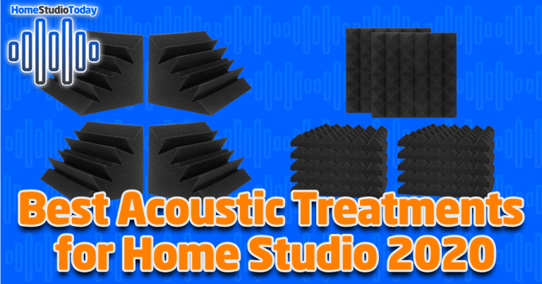 Best Acoustic Treatments for Home Studio 2020