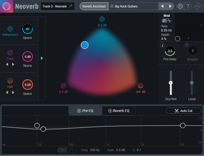 iZotope Neoverb Review main plugin image