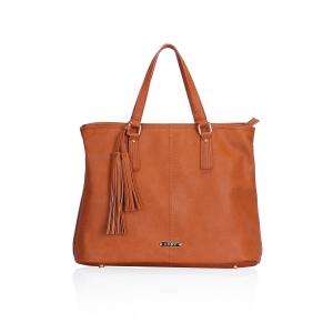 LYDC brown handbag
