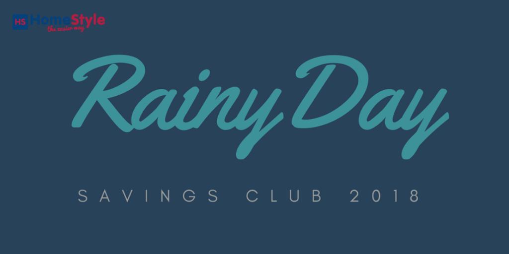 Its Back...The Rainy Day Savings Club