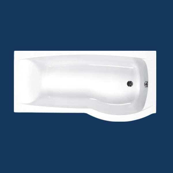 Carron Delta Shower Bath 1700 X 800mm Right Hand
