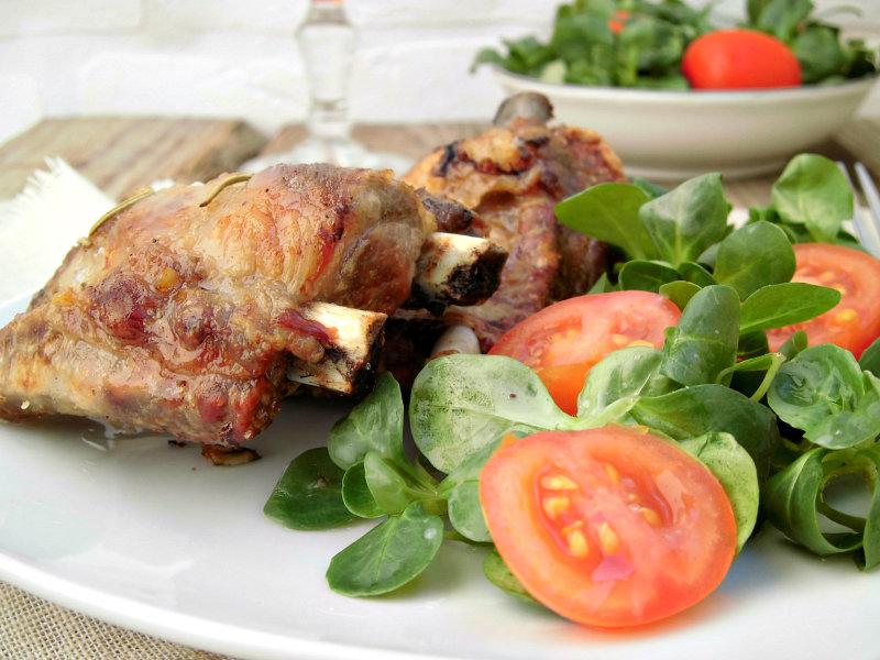 Costine di maiale al forno