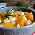 Zucca con fagioli all'abruzzese