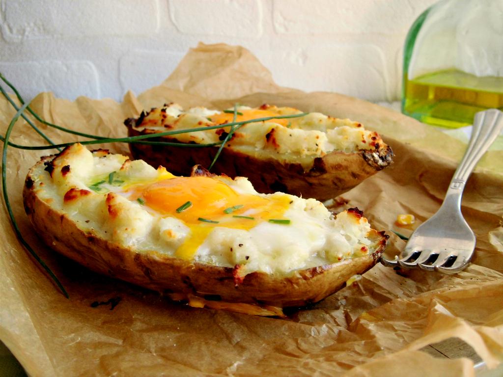 Patate dolci al forno con l 39 uovo home sweet home for Patate dolci americane