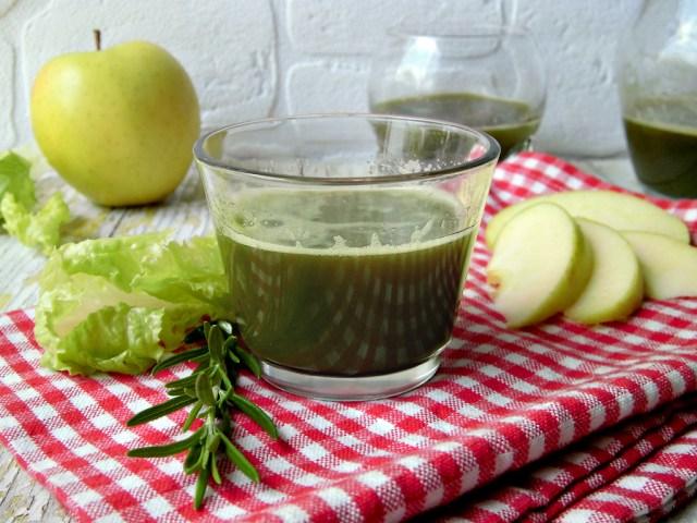 Succo detox di lattuga