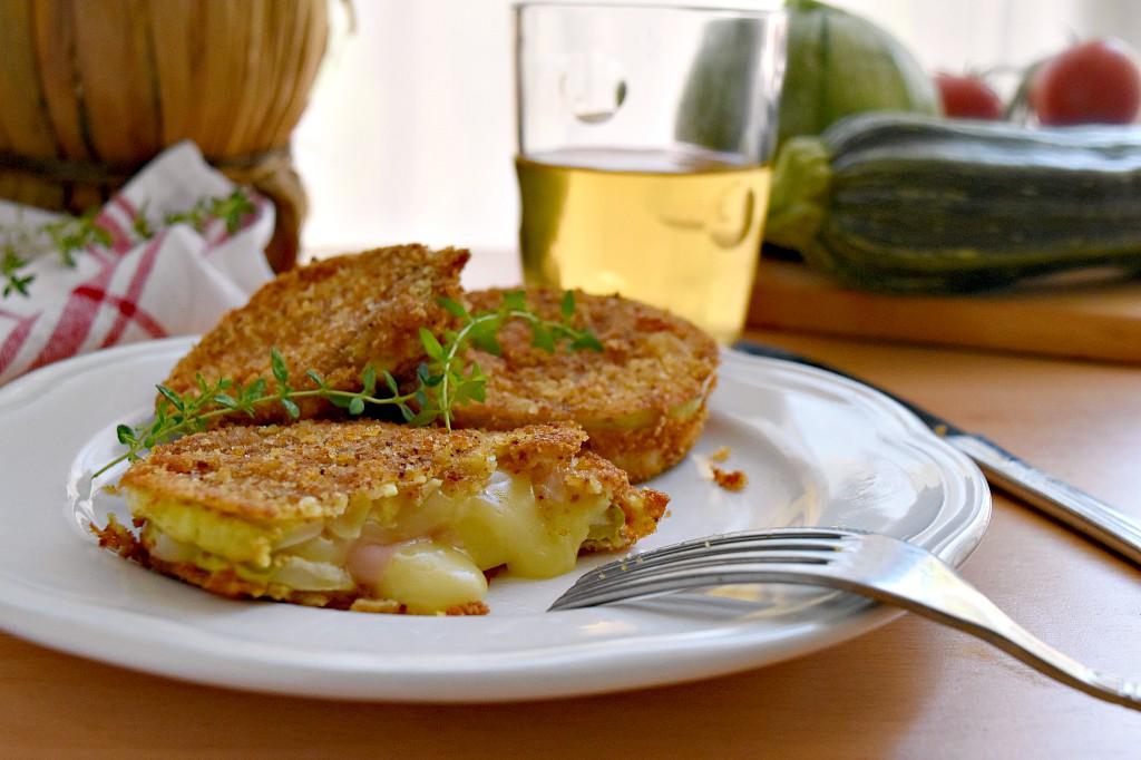 Cordon bleu di zucchine, un secondo sfizioso