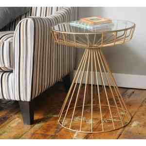 Gatsby Side Table Gold