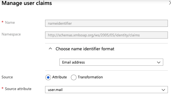 Manage user claims