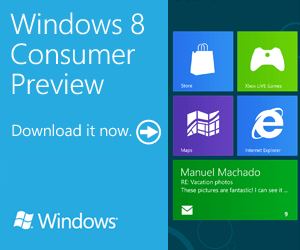 Download Windows 8 Consumer Preview