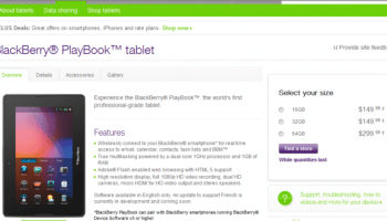 Lowest price ever for BlackBerry PlayBook   Is The Source