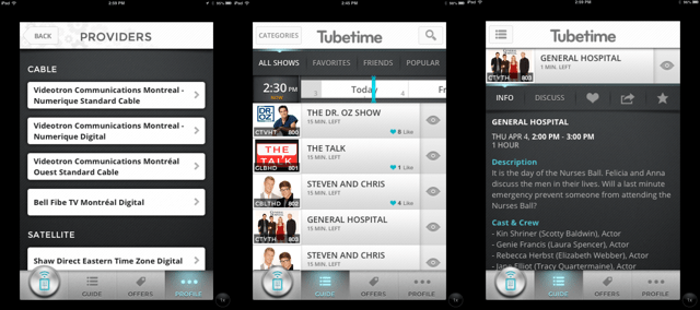 Need a TV companion? Tubetime is almost perfect