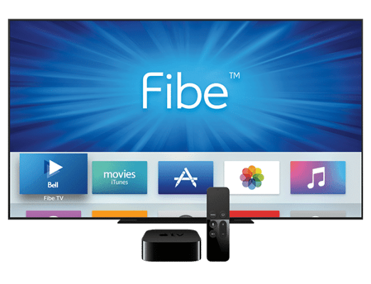 Bell Fibe TV on Apple TV
