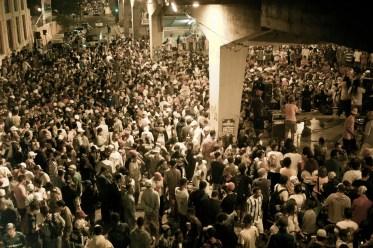 Duelo de MCs no Viaduto Santa Tereza, em Belo Horizonte