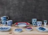 Porcelanas estampadas por Muug