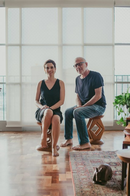 Nara Grossi e Roberto Maya, Fotos por Bruna Bento para Hometeka
