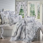 Estelle Blue Cal King 4 Pcs Comforter Set