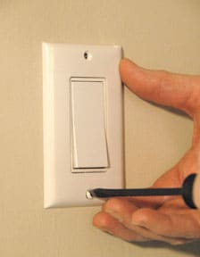 How to Replace or Install a Light Switch repair a ceiling fan light switch