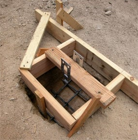 How To Pour Concrete Footings Amp Piers
