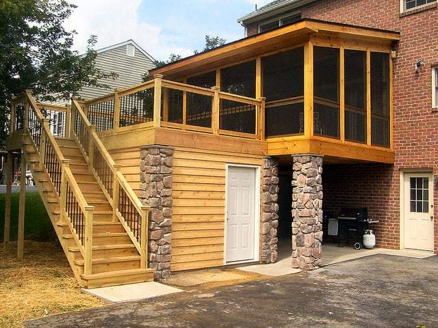 3 Ways to Create Waterproof Dry Space Under a Deck   HomeTips on Under Deck Patio Ideas id=51314