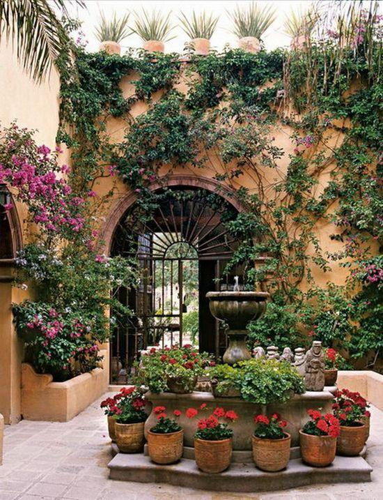 How To Design A Mexican Patio