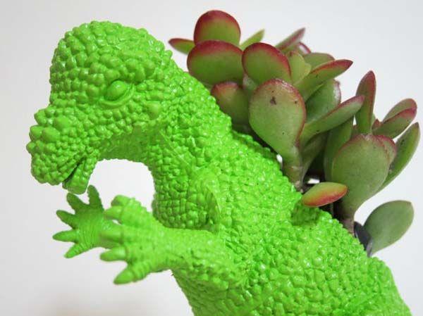 Awesome Dinosaur Planters